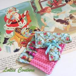 Christmas toy - Stocking Stuffer - Crayola Roll - Crayon Holder - Christmas in July